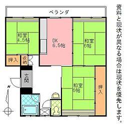 岩田材木ビル[102号室]の間取り