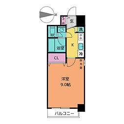 プロシード新栄[11階]の間取り