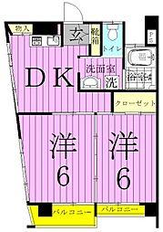 第一江川ビル[3階]の間取り