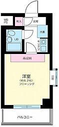 東京都練馬区上石神井1丁目の賃貸マンションの間取り