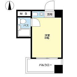 デイズハイツ三先[10階]の間取り