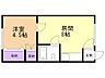 間取り,1DK,面積26.23m2,賃料3.5万円,バス くしろバス共栄大通7丁目下車 徒歩3分,,北海道釧路市新栄町14-18