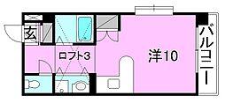 メゾンドール室町[406 号室号室]の間取り