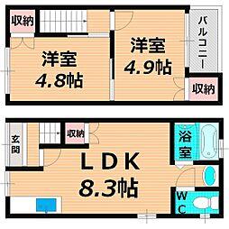 Osaka Metro長堀鶴見緑地線 蒲生四丁目駅 徒歩9分の賃貸一戸建て