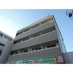 東京都日野市万願寺2丁目の賃貸マンションの外観