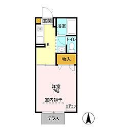 フォレスト田中 /[1階]の間取り