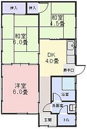 [一戸建] 三重県松阪市宝塚町 の賃貸【三重県 / 松阪市】の間取り
