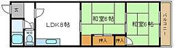 リード岡田マンション[2階]の間取り
