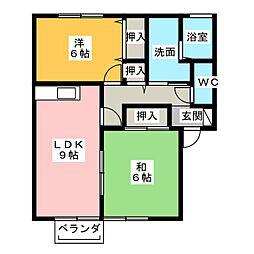 M.Station[1階]の間取り