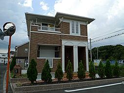 福岡県北九州市八幡西区木屋瀬5丁目の賃貸アパートの外観
