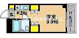 岡山県倉敷市鳥羽の賃貸マンションの間取り
