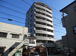 愛媛県松山市木屋町1丁目の賃貸マンションの外観