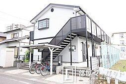 愛知県豊田市田中町2の賃貸アパートの外観