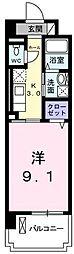 埼玉県川口市弥平2丁目の賃貸マンションの間取り