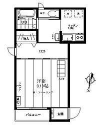 M−FLAT[302号室号室]の間取り