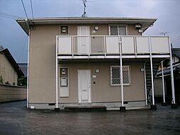 大阪府富田林市北大伴町2丁目の賃貸アパートの外観