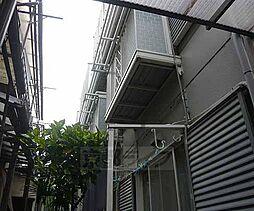 京都府京都市右京区太秦井戸ケ尻町の賃貸アパートの外観