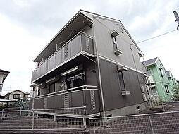 神鉄粟生線 緑が丘駅 バス3分 センター前下車 徒歩7分の賃貸アパート