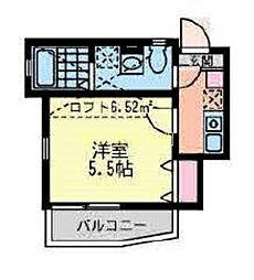 レジェンド磯子[2階]の間取り