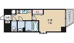 ファーストステージ江戸堀パークサイド[6階]の間取り