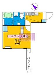 フルール井土ケ谷[1階]の間取り