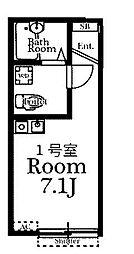 Court Arrow[3階]の間取り