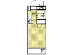 グリーンハイムフミ[1階]の間取り