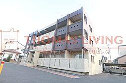 福岡県福津市日蒔野3丁目の賃貸マンションの外観