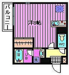 埼玉県さいたま市西区土屋の賃貸マンションの間取り