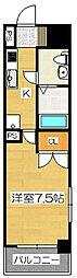 リファレンス祇園[10階]の間取り