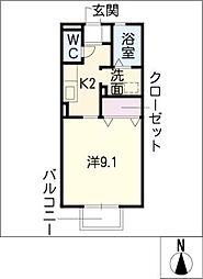 グランモアロイヤル[1階]の間取り