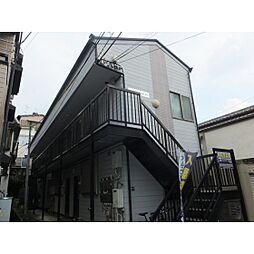 東京都板橋区志村1丁目の賃貸アパートの外観