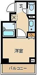 東京都文京区白山5丁目の賃貸マンションの間取り