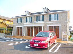 三重県三重郡川越町大字豊田の賃貸アパートの外観