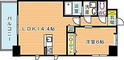MDIプロスコルディア黒崎駅前[8階]の間取り