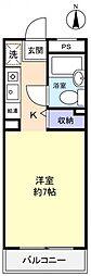 TK八千代[3階]の間取り