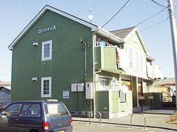 茨城県土浦市中村南2丁目の賃貸アパートの外観