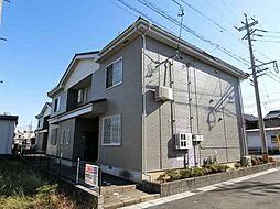 岐阜県羽島郡笠松町円城寺の賃貸アパートの外観