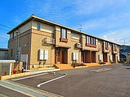 大阪府阪南市貝掛の賃貸アパートの外観