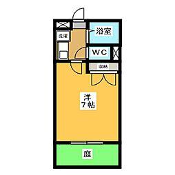 DEUXIEME CONFORT[1階]の間取り