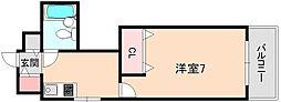 メゾン豊中パート16[2階]の間取り