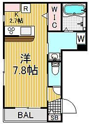 (仮称)原町2丁目メゾン[3階]の間取り