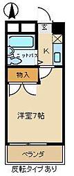 愛知県尾張旭市印場元町4丁目の賃貸アパートの間取り