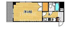 DETOM-1今出川通[204号室号室]の間取り