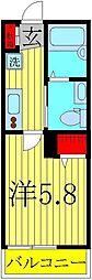 NK HOUSE[105号室]の間取り