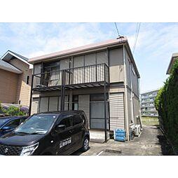 静岡県浜松市西区古人見町の賃貸アパートの外観