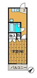 島田ハイツ[1階]の間取り
