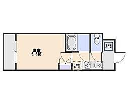 HANAKO M[1階]の間取り