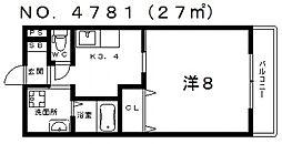 セレーナあびこ[3階]の間取り