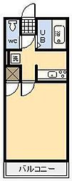 メゾンロワール[502号室]の間取り